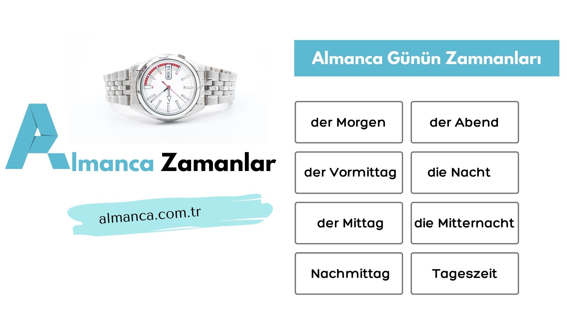 Almanca-Zamanlar