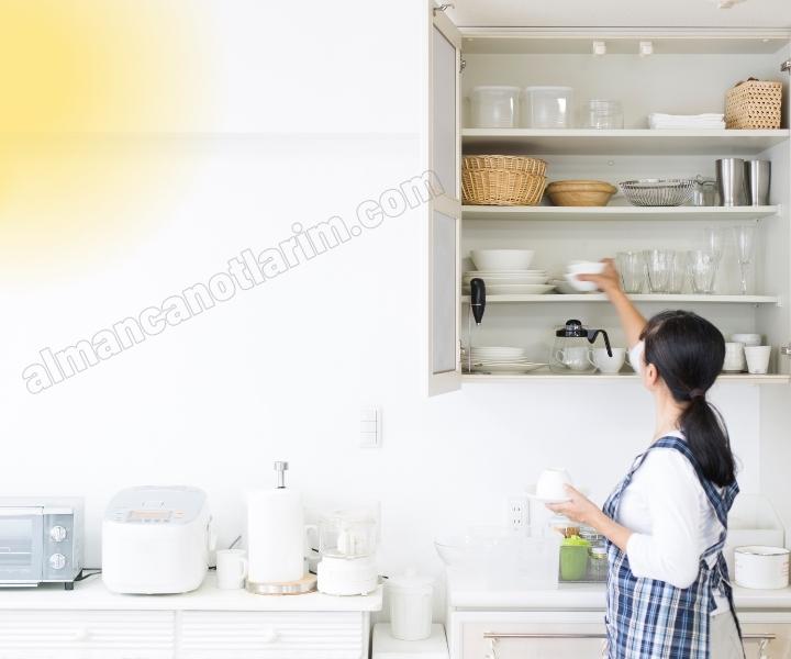 Almanca En çok Kullanılan Mutfak Aletleri
