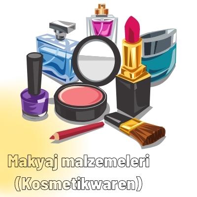 Almanca Makyaj malzemeleri (Kosmetikwaren)